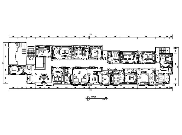 [江苏]百丽宫殿夜总会空间设计施工图(附效果图)