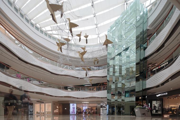 万达广场购物中心室内设计施工图(附效果图)-1 (8)