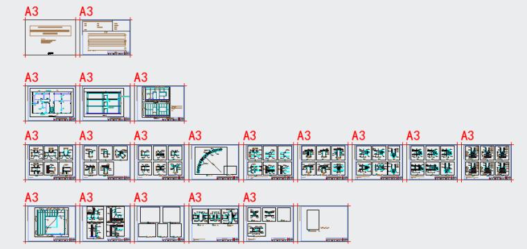 [金螳螂]轻钢龙骨纸面石膏板隔墙设计施工图收口节点深化-附件预览图1