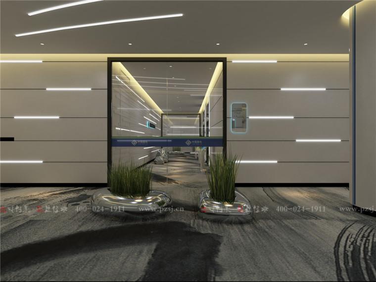 中国国电龙源集团江苏分公司智能监控指挥中心办公空间项目设计-2.公共过廊区.jpg