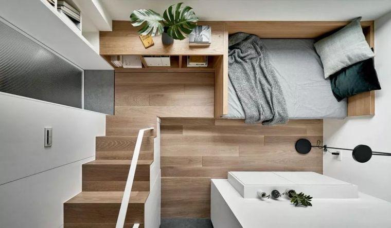一个人的豪宅——17.6㎡极小公寓_1