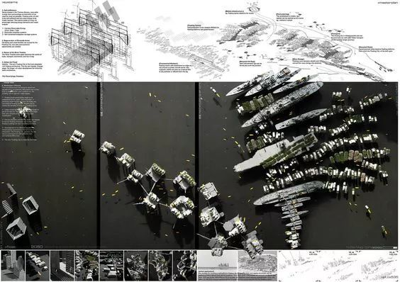 这些剖面图,99%的建筑师都画不出来!