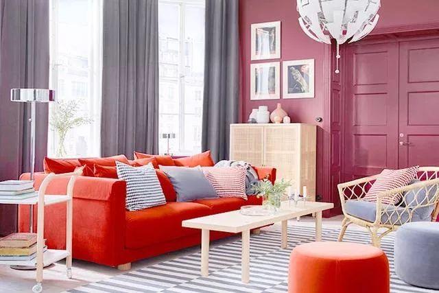 你不知道的客厅彩色沙发,给你不一样的格调。_1