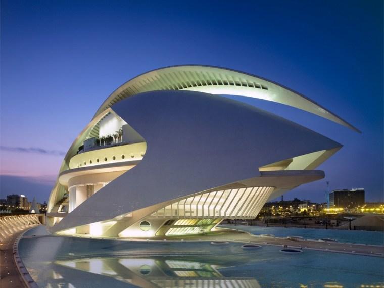西班牙含苞绽放的瓦伦西亚歌剧院-1