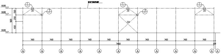 成都74X171mm门式刚架结构施工图(CAD,全套)_4