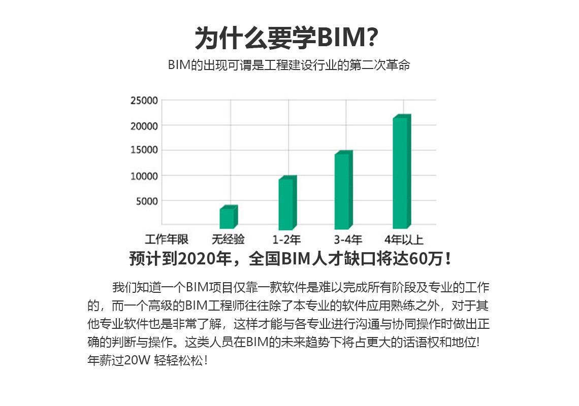 BIM薪资,趋势