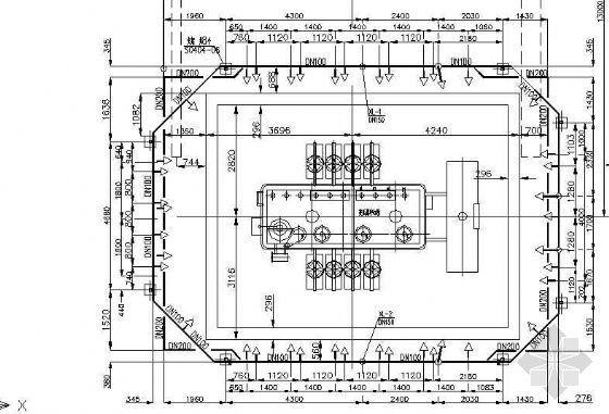 变压器水喷雾消防管道图