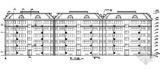 某五层住宅楼建筑施工图-2