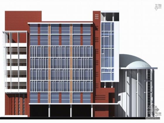 [广州]某农业大学音乐楼建筑设计方案文本