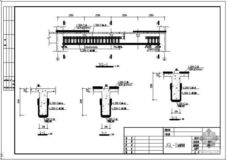 某碳纤维加固梁板节点构造详图