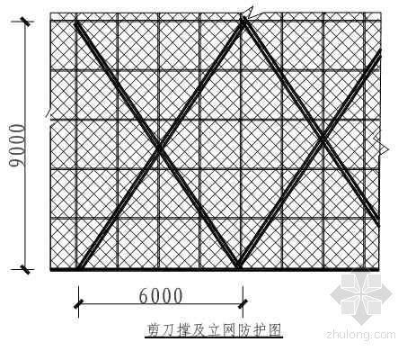 天津某住宅楼外脚手架计算书(落地式、悬挑式)