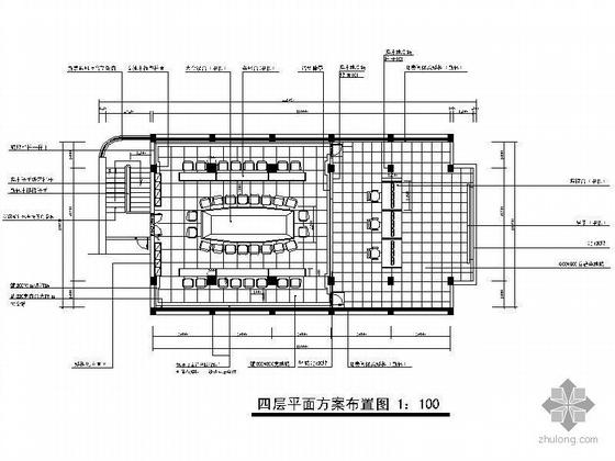 [深圳]某海关办事处装修设计图
