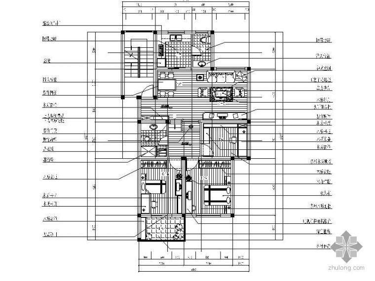 欧式风格三室二厅装修图