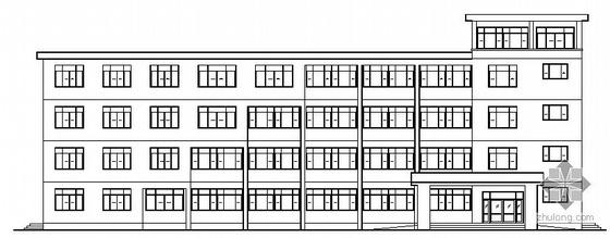[毕业设计]苏州某五层教学楼建筑结构施工图(计算书及CAD建筑图)