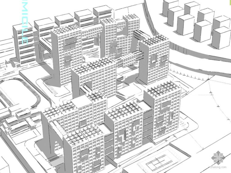 某小区规划及户型设计前期方案