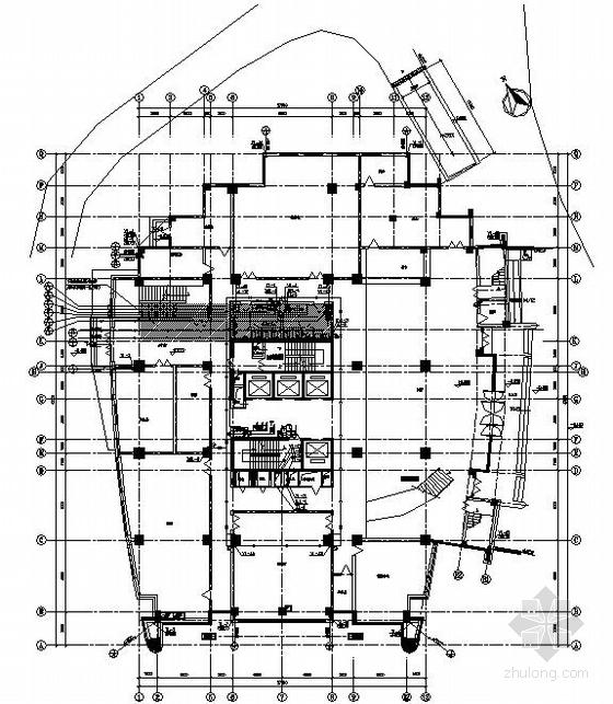 喷淋安装节点图资料下载-某二十一层大楼给排水喷淋施工图