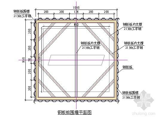 [厦门]承台基坑开挖钢板桩围堰施工方案(中交)