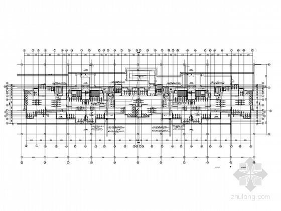[江苏]高层住宅楼智能楼宇设计图纸(含建筑底图)