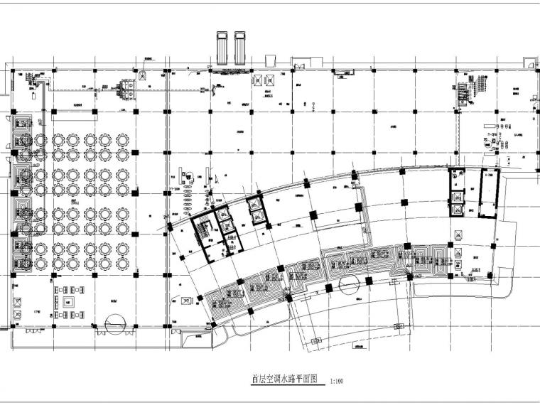 高层酒店空调通风防排烟施工图设计