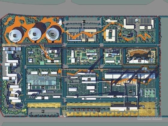 [山西]工业遗产厂区景观规划设计方案(北京著名景观设计公司)