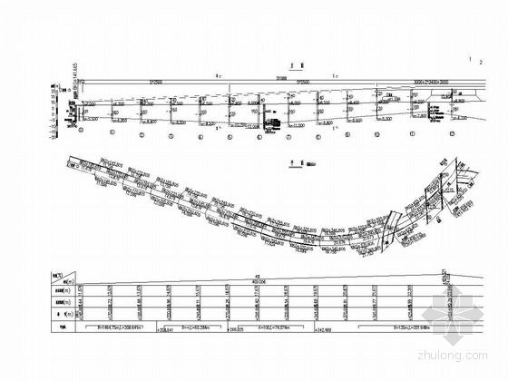 预应力混凝土连续箱梁匝道桥施工图(知名大院 桥宽9米)