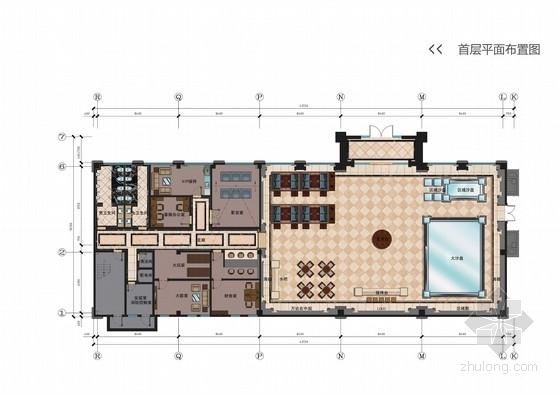 [河南]豪华欧式风格售楼部室内设计方案