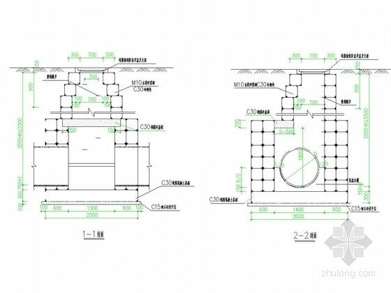 四车道城市次干道排水工程施工图设计26张