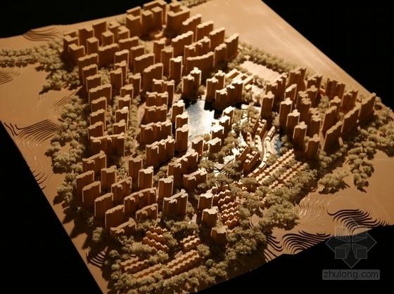 [湖南]现代风格高层住宅区规划及单体设计方案文本(知名设计院)