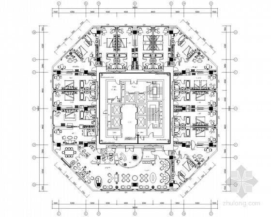 [安徽]五星级国际酒店弱电智能化施工图