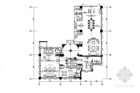 [长沙]花园酒店双层别墅装修图