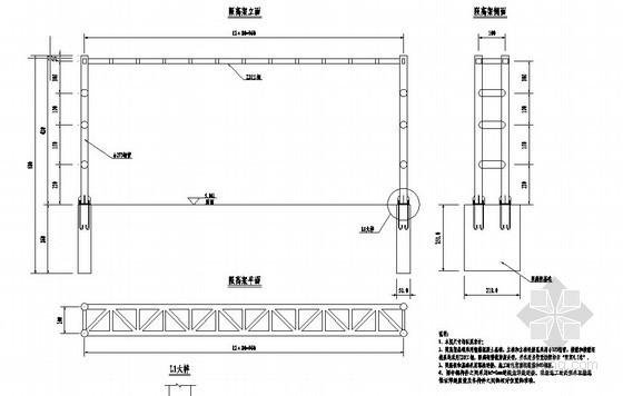 [福建]大桥防护栏杆结构节点详图