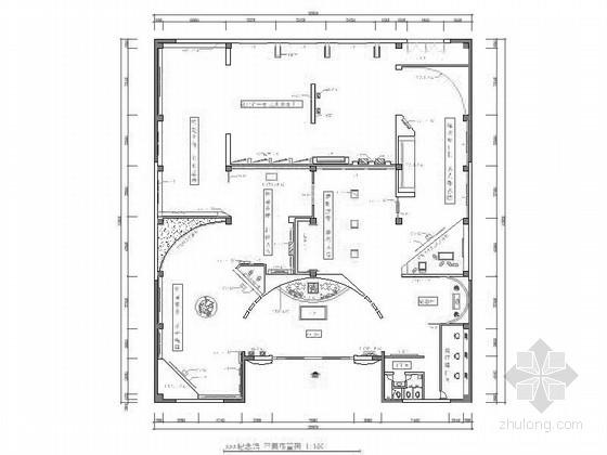 [毕业设计]某展览纪念馆室内设计施工图(含效果)