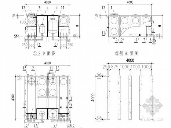 HDXBF智能型箱泵一体化泵站图集