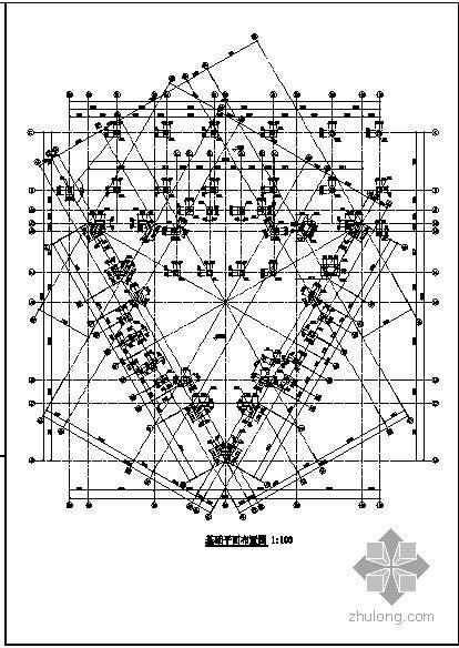 某框架基督教堂结构设计图