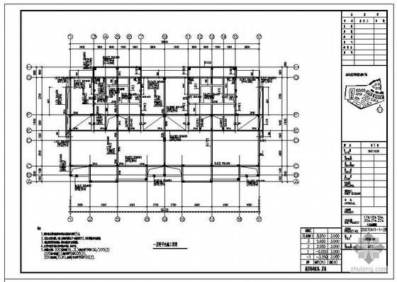 V型滤池毕设图纸资料下载-惠东某A型联排别墅全套图纸