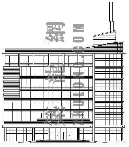 某办公综合楼建筑施工图(全套)