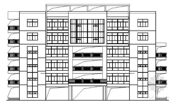 [武汉]某体育特色学校行政楼建筑结构扩初图