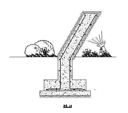 某小区景墙施工图-2