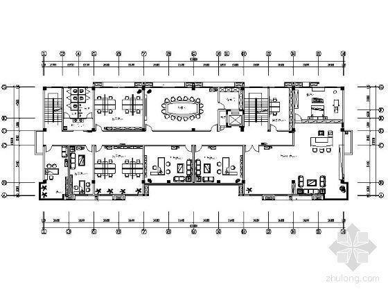 办公大楼平面
