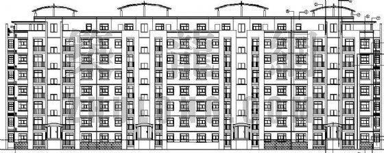 某坡地多层住宅建筑施工图(全套)
