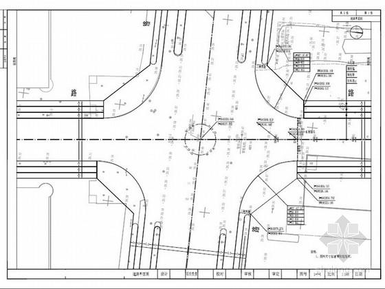 [安徽]市政道路及附属物工程施工图设计(道路 排水)