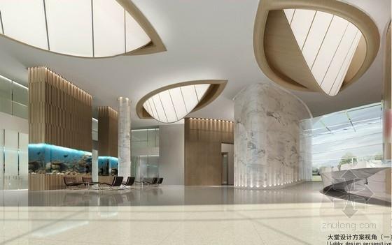 [苏州]国际公司现代办公及实验室设计方案