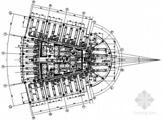 [南京]200米金融中心暖通空调设计施工图(水环热泵系统)