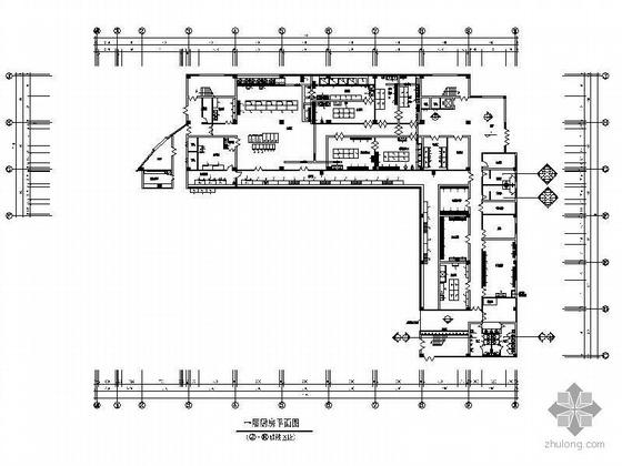 企业员工综合食堂楼装修图