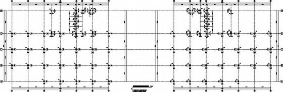 12层带地下室双子楼结构施工图