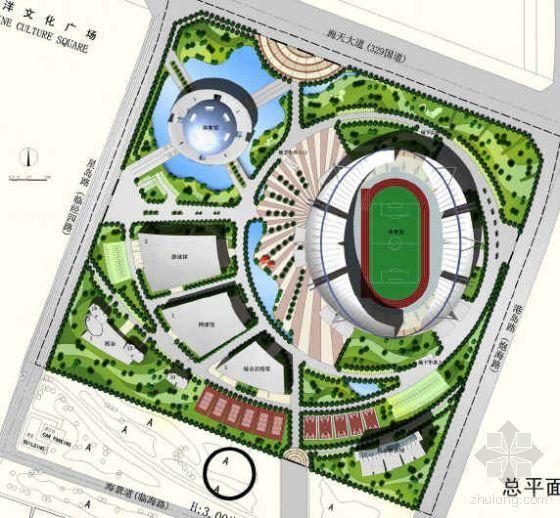 舟山文化公园方案设计