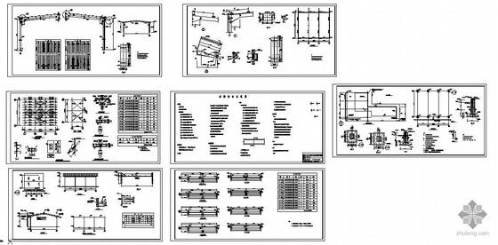 某15米跨厂房结构图