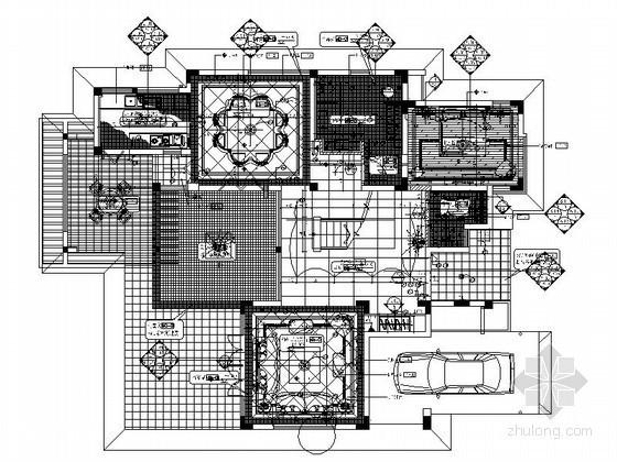 [海南]名师摩洛哥风格双层别墅装修图