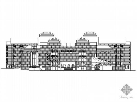 [香港]某老人院建筑设计扩初图(英文)