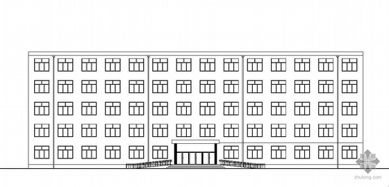 鞍山某中学公寓建筑施工(毕业设计)